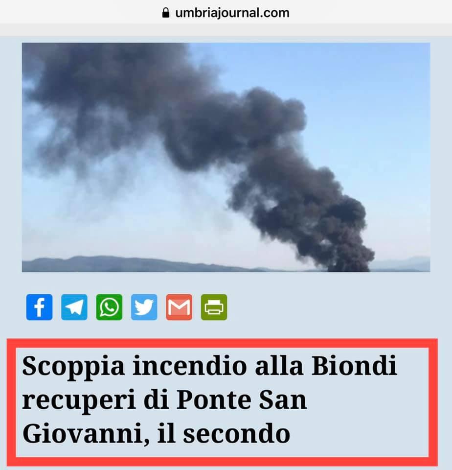 """Allarme incendi, Pavanelli (M5s): """"Più controlli nella gestione dei rifiuti"""""""