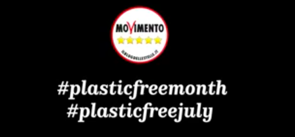 Plastic free month, luglio senza plastica